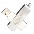 LDC08 USB 2.0 Flash / Jump Drive mit eingebautem Jiangmin Antivirus-Software - Silber (2 GB)