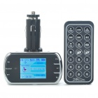 "1,8 ""TFT LCD Car MP3 Player FM Transmitter w / Remote Controller/USB/SD/TF/3.5mm - schwarz (2GB)"