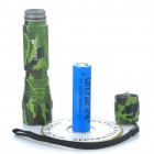 Ultrafire WF-501B 1-Mode 510-Lumen LED Flashlight w / Cree XM-LT6 - Camouflage vert (1 x 18650)