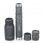 Trustfire 5-Mode 450-Lumen Memória LED branco Convex Lens Flashlight Set (2x18650)