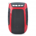 AONI USB Rechargeable MP3 Player Music Speaker w/ FM/Line In/3.5mm Audio Jack/TF Slot - Red