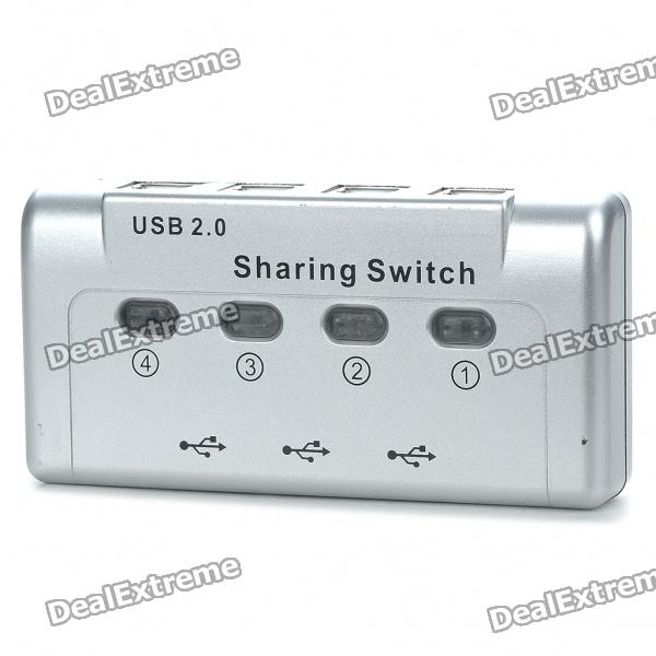 3 USB A to 4 USB B Ports USB Switch for Printer Hub Device Sharing