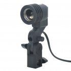 Soltero E27 Socket Bulb Holder flash Umbrella Bracket