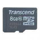 Genuine Transcend TF Memory Card (8 GB/ Class 10)