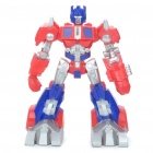 Transformers Robot Figure Display Model with Red LED Light - Optimus Prime (2 x AG13)