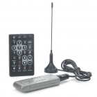 Mini DVB-T Digital & Analog TV USB 2.0 Dongle with FM/DAB/Remote Controller