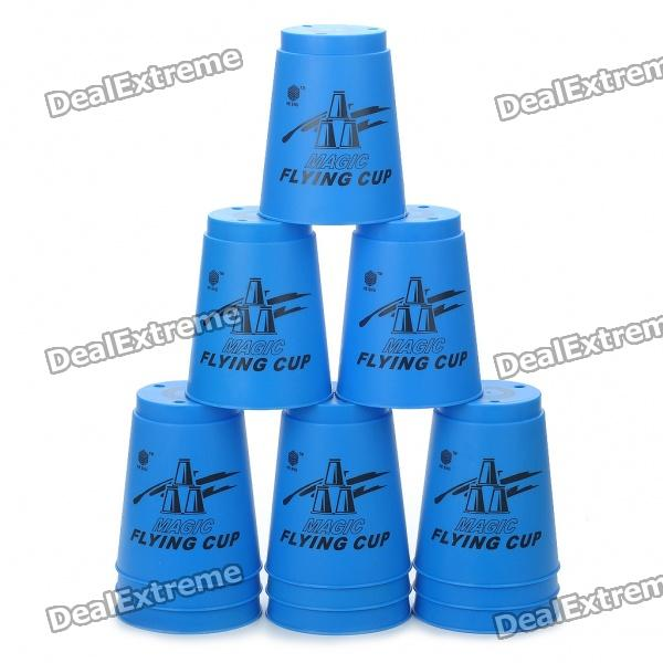 Magic Flying Stacked Cup - Random Color (200ml/12-Piece Pack)