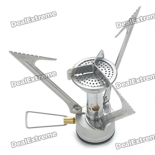Compact Portable Camping Butane Gas Stove with Plastic Carrying Box