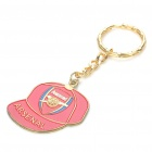 Cool Cap Style Keychain with FC Football Club Logo - Arsenal (Red)
