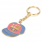 Buy Cool Cap Style Keychain with FC Football Club Logo - Barcelona (Red + Blue)