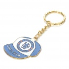 Cool Cap Style Keychain with FC Football Club Logo - Chelsea (Blue + White)