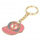 Buy Cool Cap Style Keychain with FC Football Club Logo - Manchester United (Red + Black)