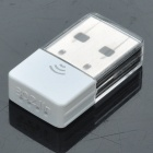 Ultra-Mini 802.11 b/g/n 150Mbps USB WLAN Network Adapter - White