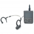"1/4"" Sharp CCD Eyewitness Police Security Ear Hook Style Mini DVR Camera Set (2.5"" LCD/TF Slot)"