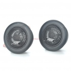 "1"" High Power 120w Dome Tweeter Speakers for Car and Motorcycle Stereo Audio System (Pair)"