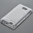 Protective TPU S Back Case Cover for Samsung Galaxy Z i9103 - Transparent