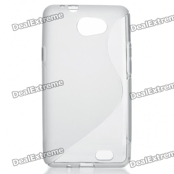 Protective TPU S Back Case Cover for Samsung Galaxy Z i9103 - Grey - DXTPU Cases<br>Color: Grey - Material: TPU soft clear crystal case - High quality soft case - Durable material ensures the long life of your mobile phone - Popular and smooth design - Ultra slim and custom-fit with open-face design for easy operation - Protect your phone from scratches dust shocks etc - Could be fixed easily and securely - Perfect fit for your mobile phone precise cutout for the screen buttons ports and camera lens - Special designed for Samsung Galaxy Z i9103<br>