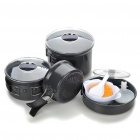 BRS 15-in-1 Home / Outdoor Pan / Saucepan / Bowl / Spoon / Cleaning Cloth Set