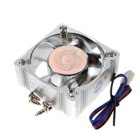 PC Case 60mm Aluminum Chassis Fan with 3-Pin Power Connectors