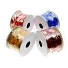 Christmas Ribbon Ornament (4-Pack)