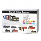 5MP Digital Video Camcorder w/ 4X Digital Zoom/White LED Light/AV-Out/SD - Blue (2.4&quot; LTPS LCD)