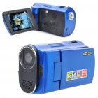 5MP Digital Video Camcorder w/ 4X Digital Zoom/White LED Light/AV-Out/SD - Blue (2.4