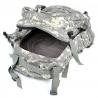 Outdoor War Game Multi-Function Nylon Cloth Backpack Bag - Camouflage