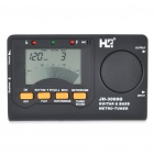 "JH-3000G 2.0"" LCD Metro Tuner for Guitar & Bass (2 x AAA)"