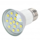 E27 3W 240LM 6500K 15-LED White Light Bulbs (85~265V)