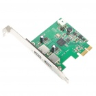 2-портовый USB 3.0 PCI-E Экспресс Expansion Card