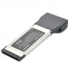 2-paapuuri USB 3.0 Pcmcia/Express Card Adapter for Laptop