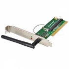 Mini PCI à PCI Adapter avec antenne