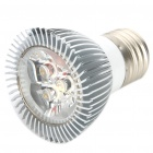 E27 3W 270LM 3500K 3-LED Warm White Light Bulb (85~265V)