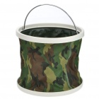 9-Litre Foldable Water Bucket - Camouflage