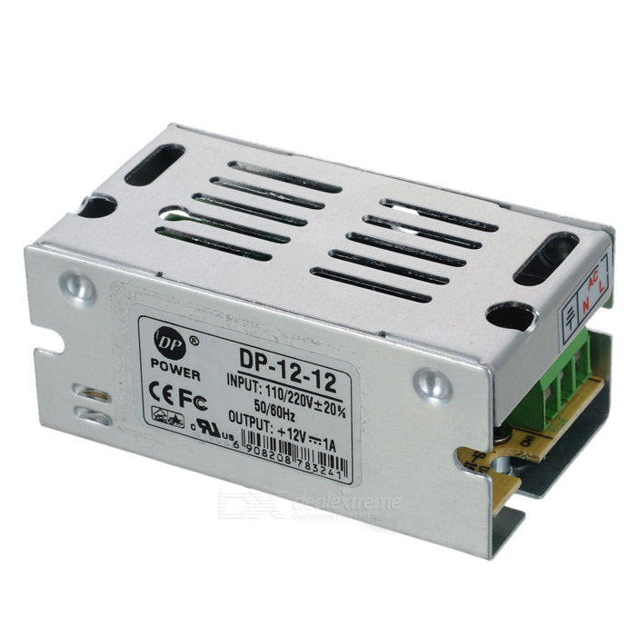 12V 1A Power Supply for LED Lighting (110~220V)Other Accessories<br>Form  ColorWhitePacking List<br>