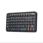 Mini Handheld Rechargeable Bluetooth Wireless Keyboard - Black