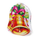 Christmas Bell Shaped Compressed Towel (2-Pack)