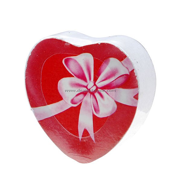 Heart Shaped Compressed Towel (2-Pack)