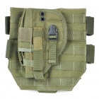 Outdoor War Game Military Gun Pistol Holster - Army Green