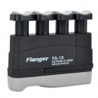 Flanger FA-10 Extend-O-Grip Medium Tension Hand Exerciser for Adults - Black + Grey