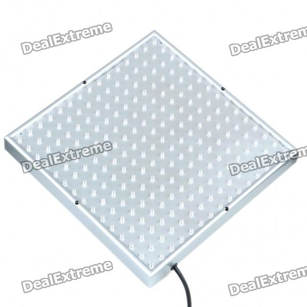 17 14W 165-Red LED 60-Blue LED Square Hydroponic Plant Grow Light Panel (AC 90~240V) ufo 300w full spectrum led grow light red blue white uv ir flower plants led grow lights for indoor plant