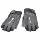 Boulder 306 Outdoor Sports Half-Finger Gloves - Black (Pair)