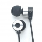 Stylish Apolok ME-C107 In-Ear Earphone - Black (3.5mm Jack/120cm-Cable)