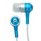 Stylish APOLOK ME-905 In-Ear Earphone - Blue (3.5mm Jack/115cm-Cable)