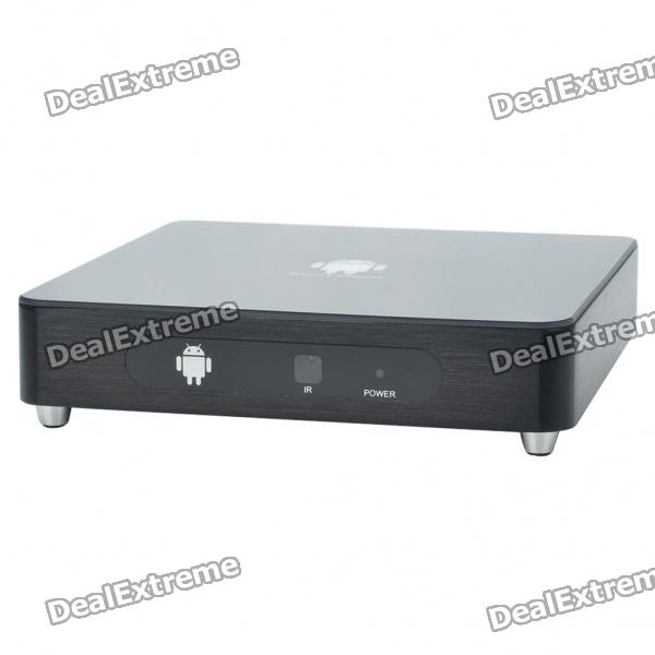 1080P Full HD Android 2.2 Network Media Player w/ 2 x USB/SD/HDMI/LAN/YPbPr/Coaxial/Audio - Black