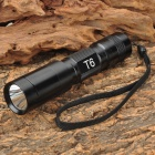 UltraFire C6-T60 CREE XM-LT6 3-Mode 1200LM LED White Flashlight w/ Strap (1 x 18650)
