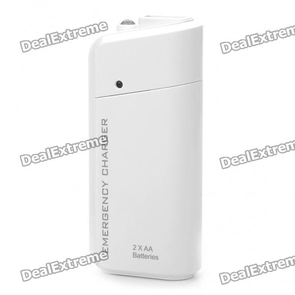 2xaa-batteries-emergency-charger-with-white-led-light-micro-usb-cable-for-cell-phone-white