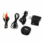 OURSPOP AC Powered Bluetooth V2.1 A2DP Audio Receiver - Black
