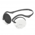 RX-W017 2.4GHz Rechargeable Wireless Stereo Headset - White