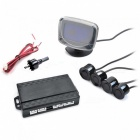 "2.3"" LCD Monitor + Parking Sensor/Radar Kit (9~16V)"